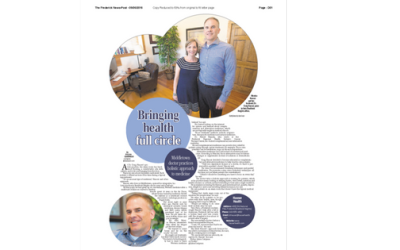Bringing Health Full Circle – Hauser Health In The Frederick News