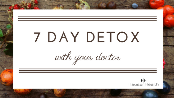 Detox with your doctor