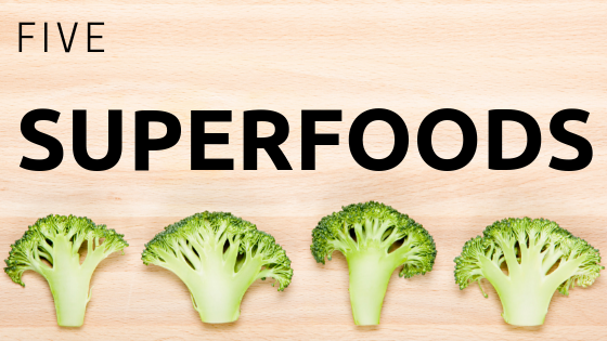 Anti-Inflammatory Diet – 5 Super Foods
